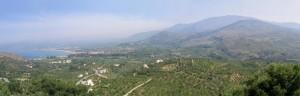 Πανοραμική θέα από το Alkion