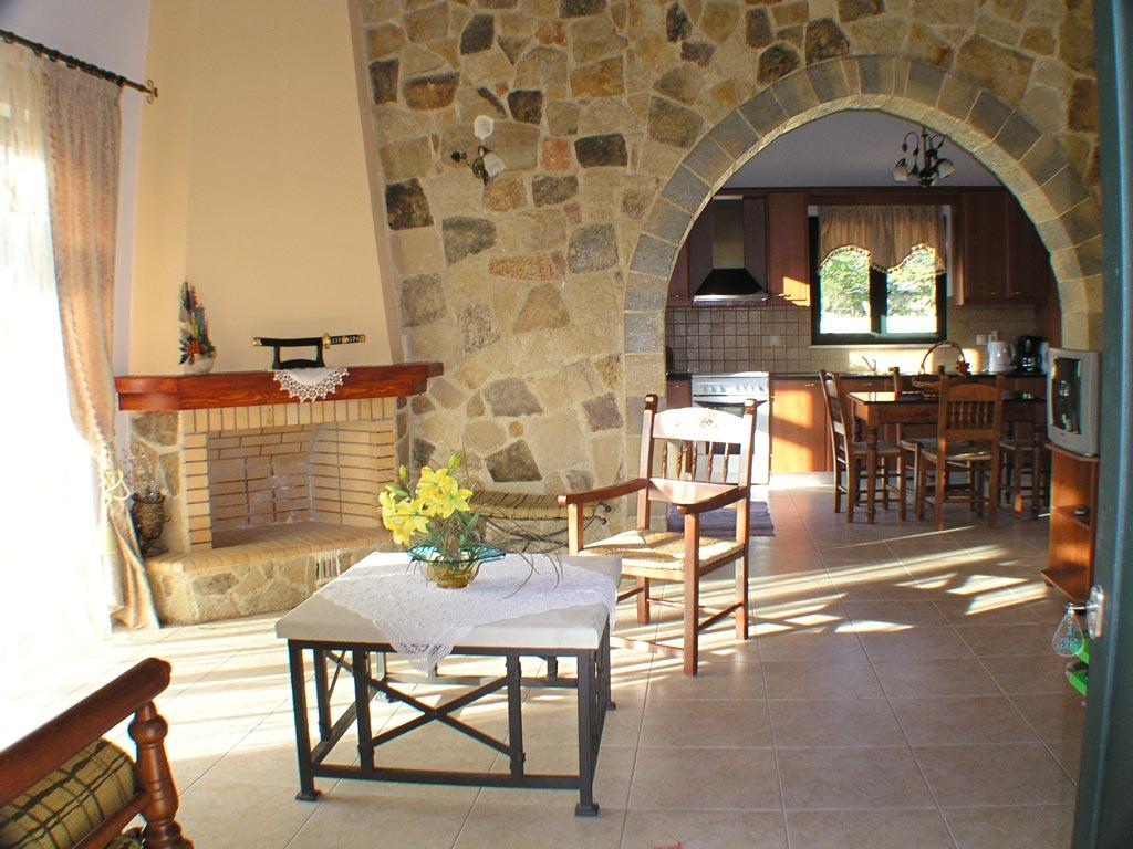 Villa Manos Livingroom