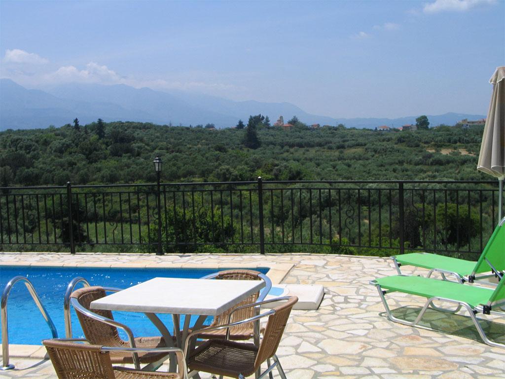 Villa Mary pool & sunbeds